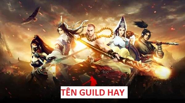 tên guild hay